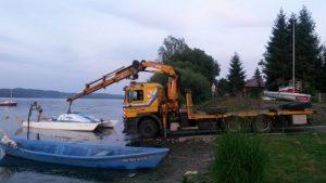 Transport łodzi